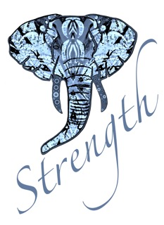 elephant strength long png